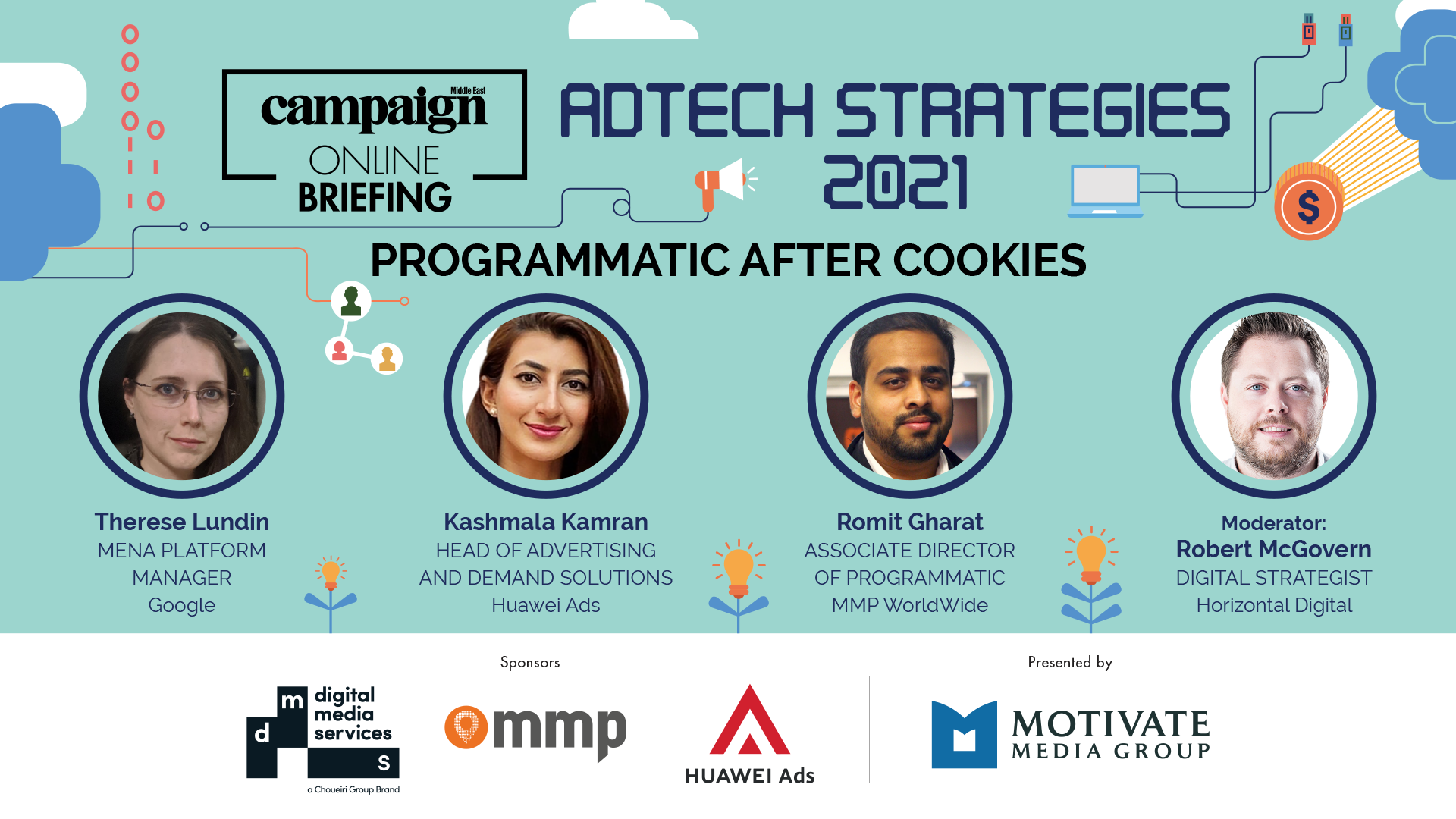 Moderating Campaign Middle East's AdTech Strategies 2021 Panel
